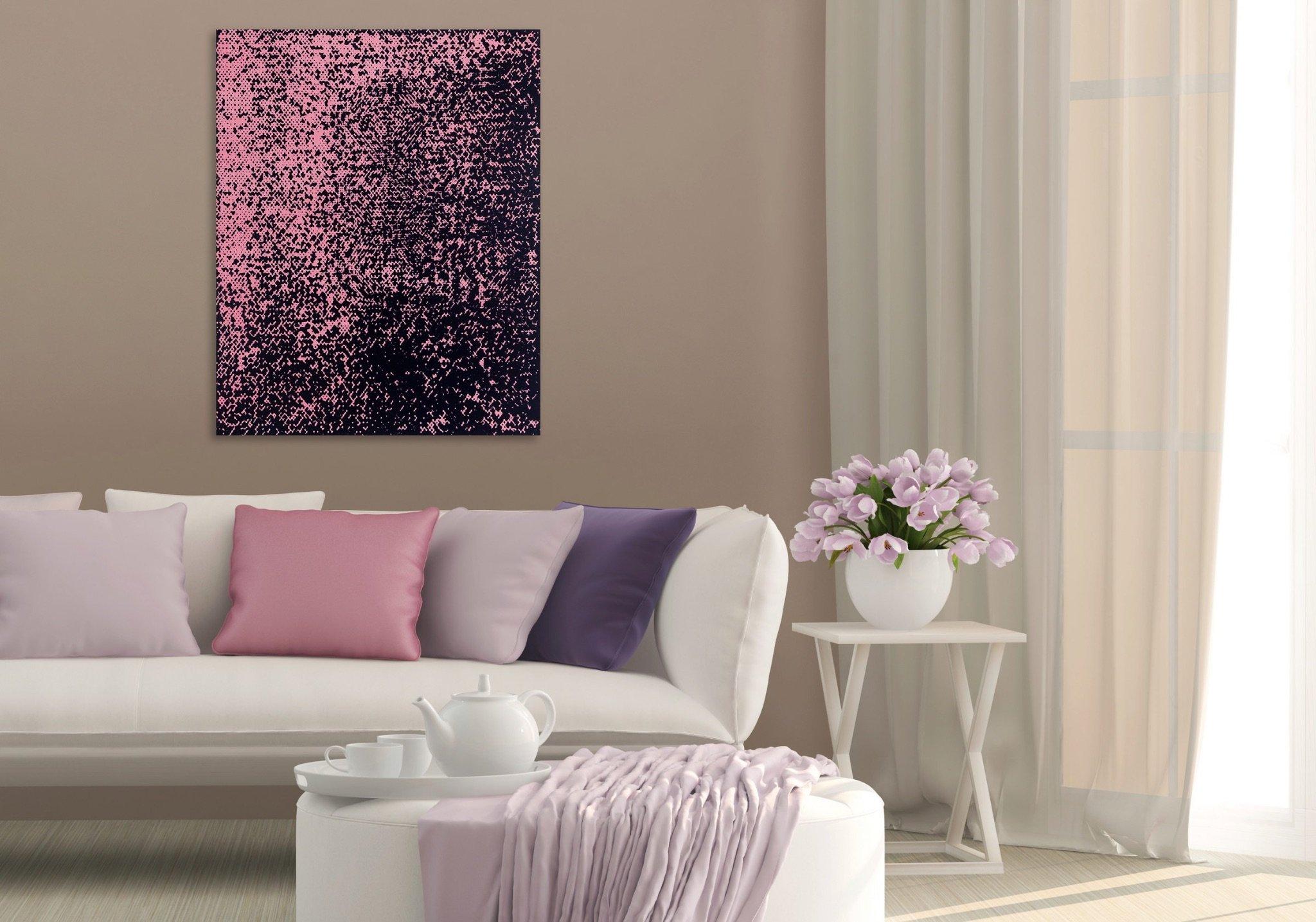 Картина на стене в гостиной