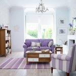 Фиолетовые кресла