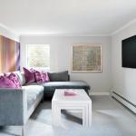 Модерн стиль в гостиной