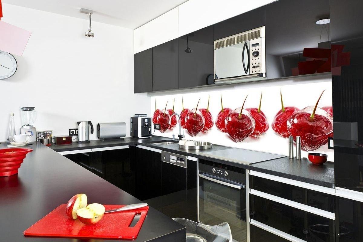 Кухонный фартук с припусками