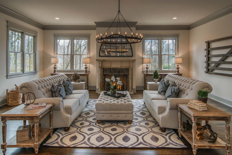 Мебель в интерьере в американском стиле