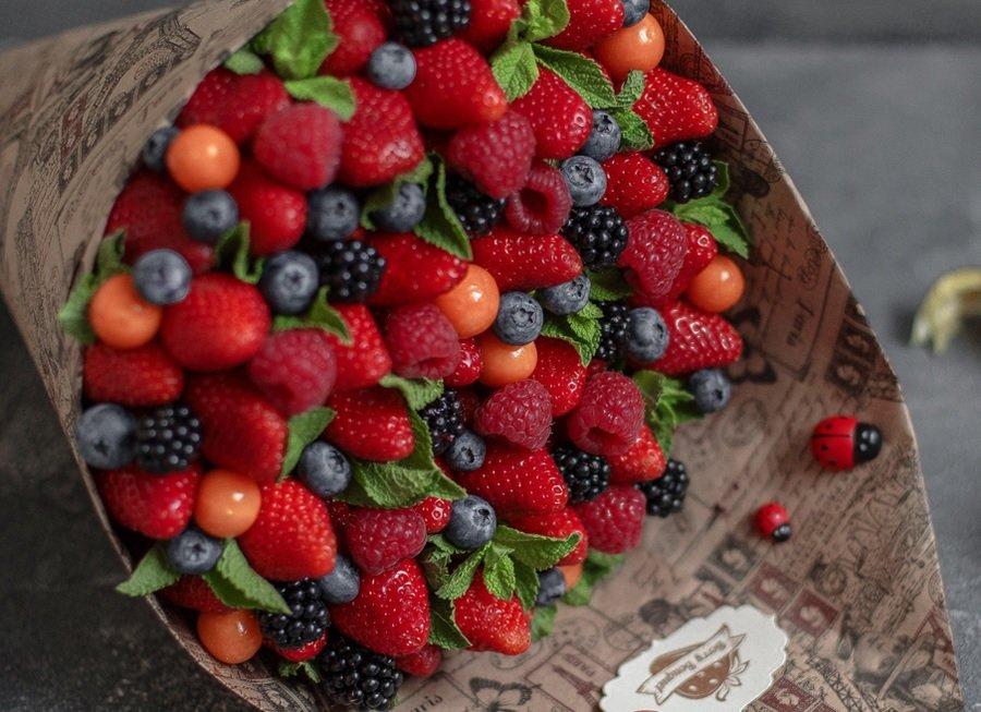 этом большой букет из ягод фото приюте муркоша можете