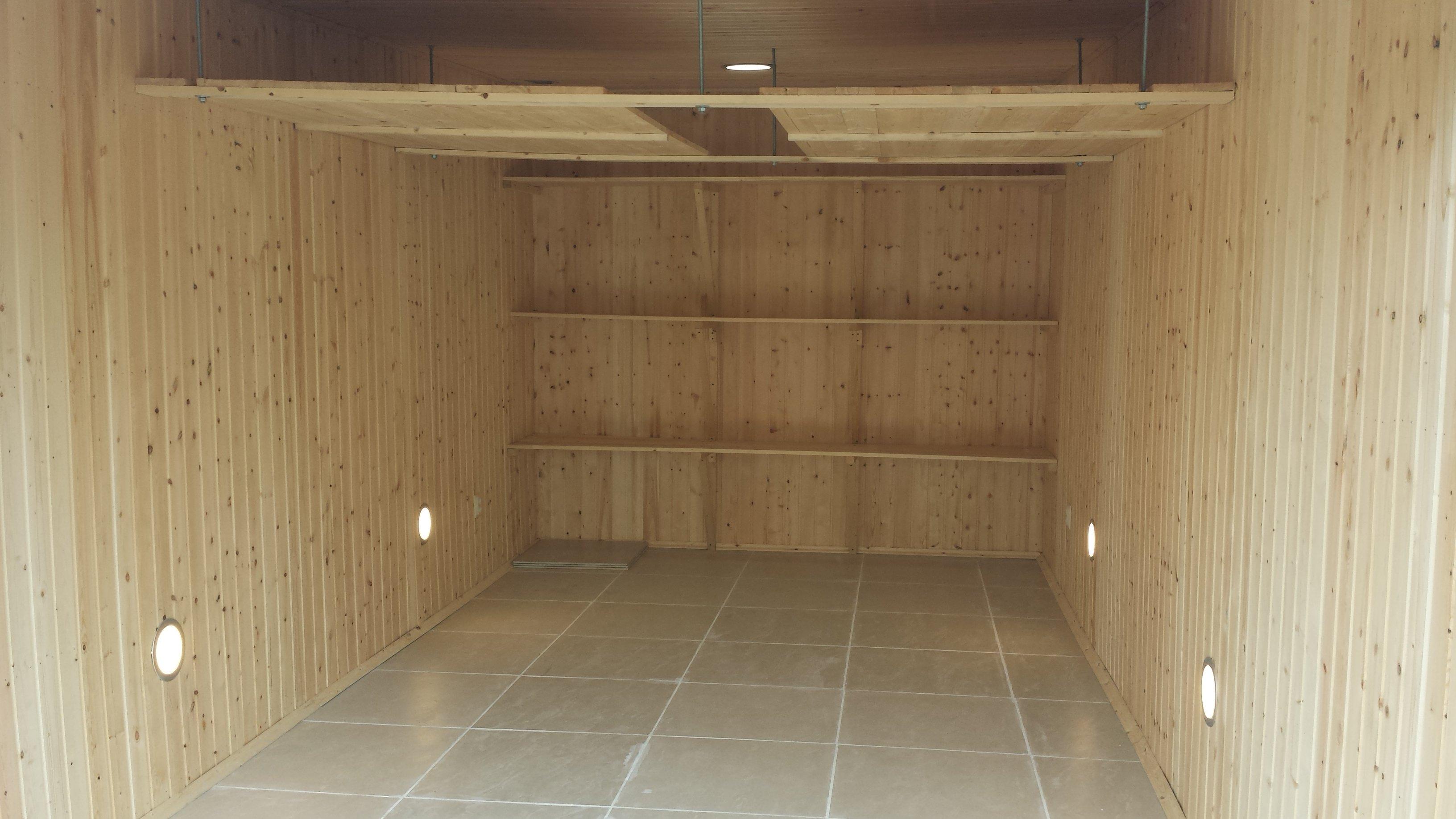 необычный чем лучше отделать гараж внутри фото многоэтажек новороссийском