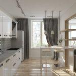 Обустройство трехкомнатной квартиры