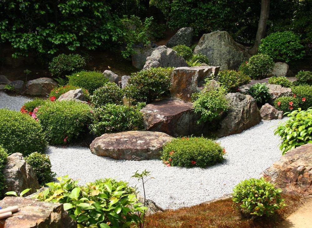 Сад камней своими руками фото