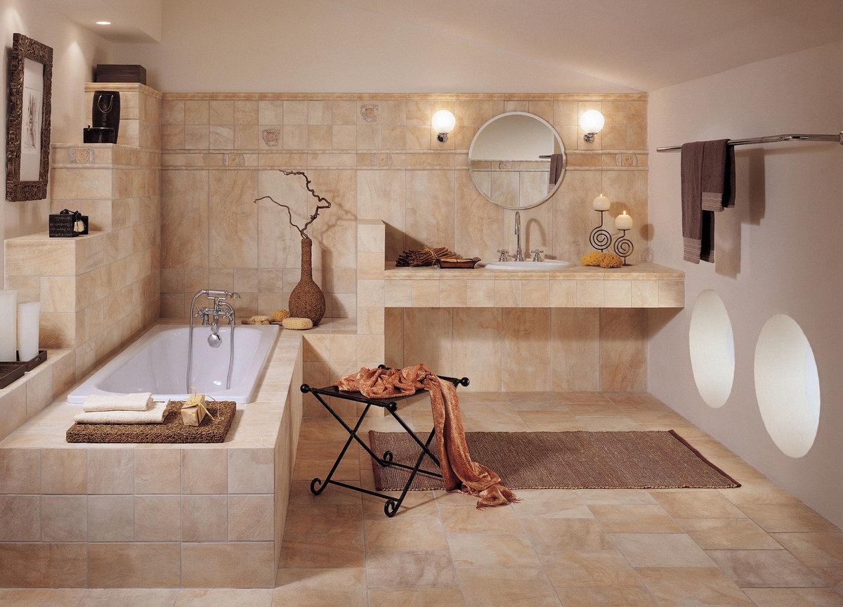Украшение ванной
