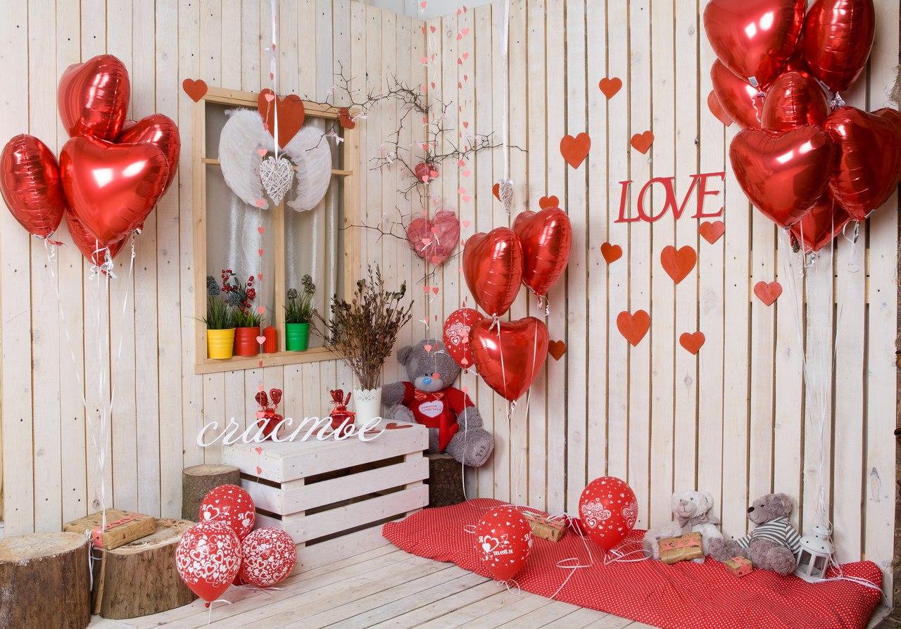 Интерьерк Дню святого Валентина. Интерьер для влюбленных