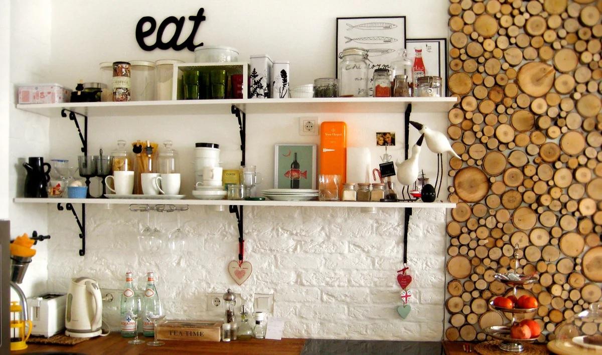 декор стен своими руками на кухне фото повествовательный