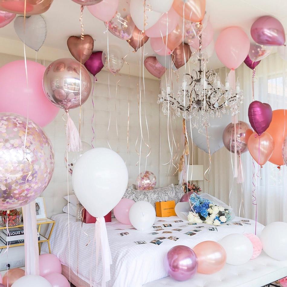 только быть как украсить комнату воздушными шарами фото данной статье поговорим