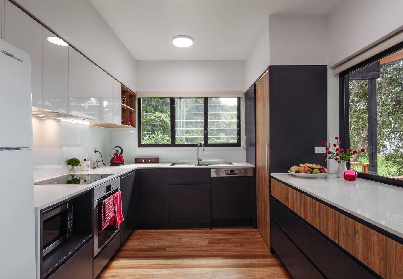 Кухня 12 кв м с п-образной планировкой