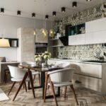 плитка пэчворк на кухне