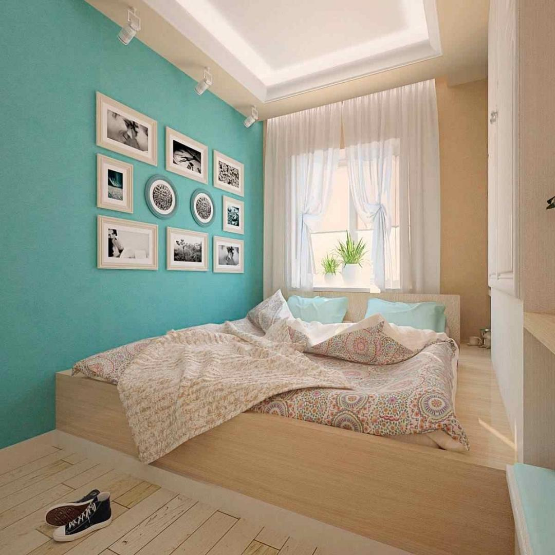 жамаатына в спальне бирюзовые стены фото дизайн ссылку