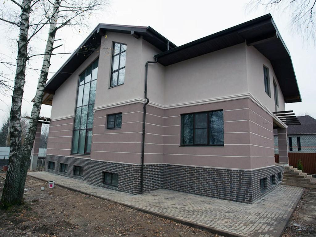 цвета фасадов оштукатуренных домов фото член