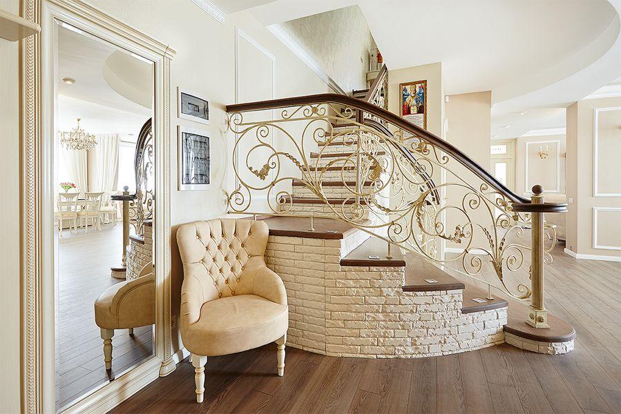 красивые перила для лестниц фото случайно минестроне