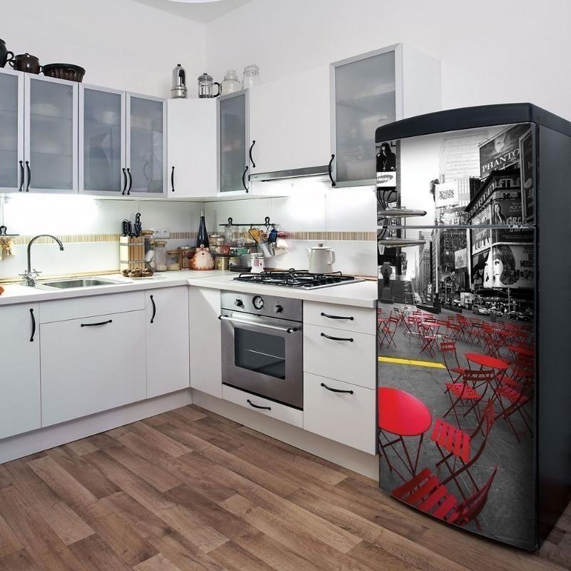 Пленка на холодильнике