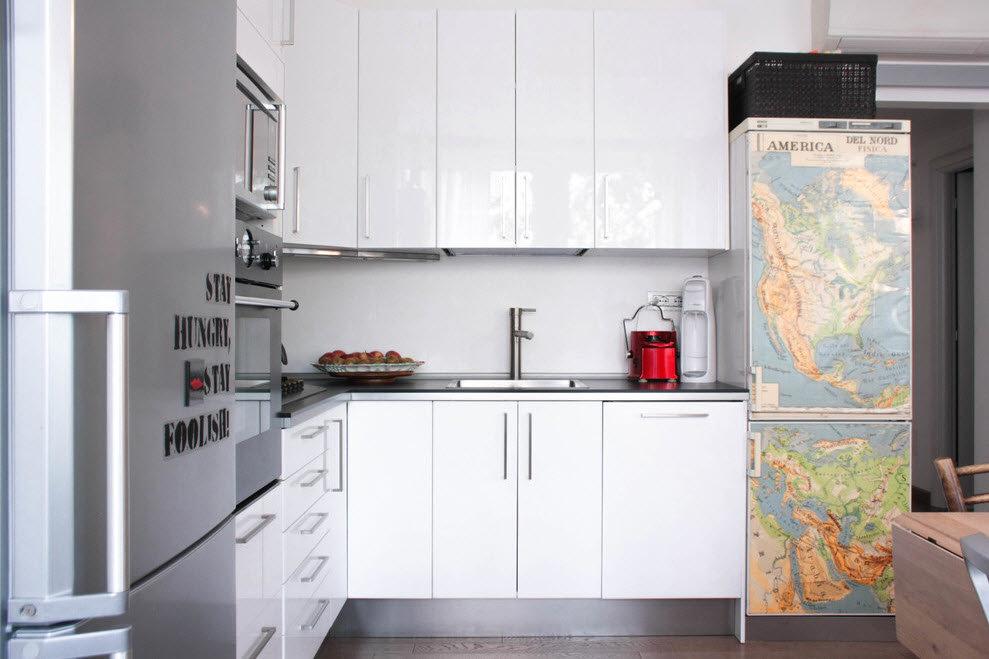 Водостойкость - одно из свойств пленки на холодильнике