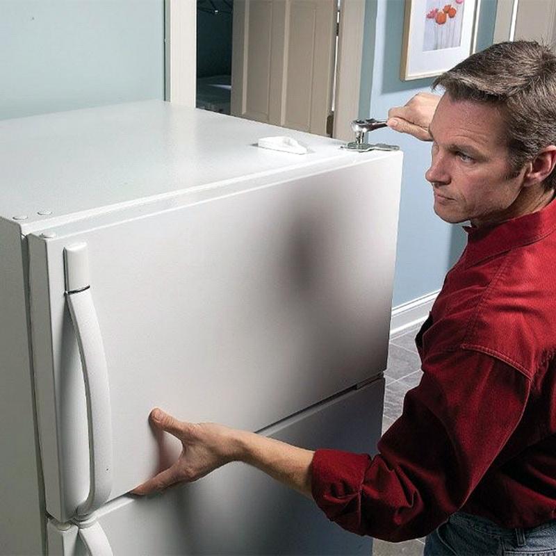 Замеры холодильника