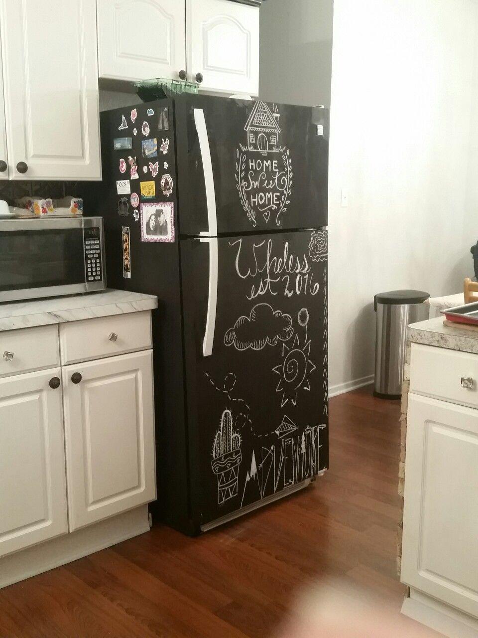 Уход за пленкой на холодильнике