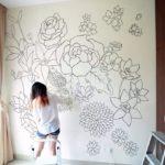Эскиз на стене