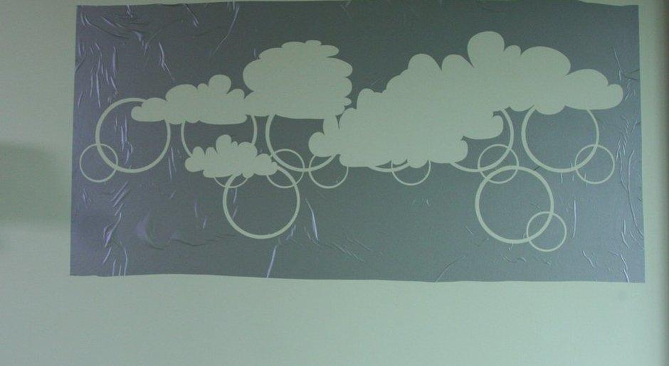 Трафарет облака