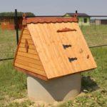 Козырек на крыше