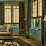 Полосаты шторы