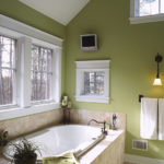 Оливковая ванная