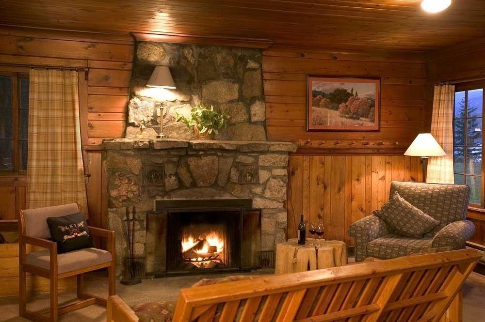 картинки уютный дом с камином удобно практично