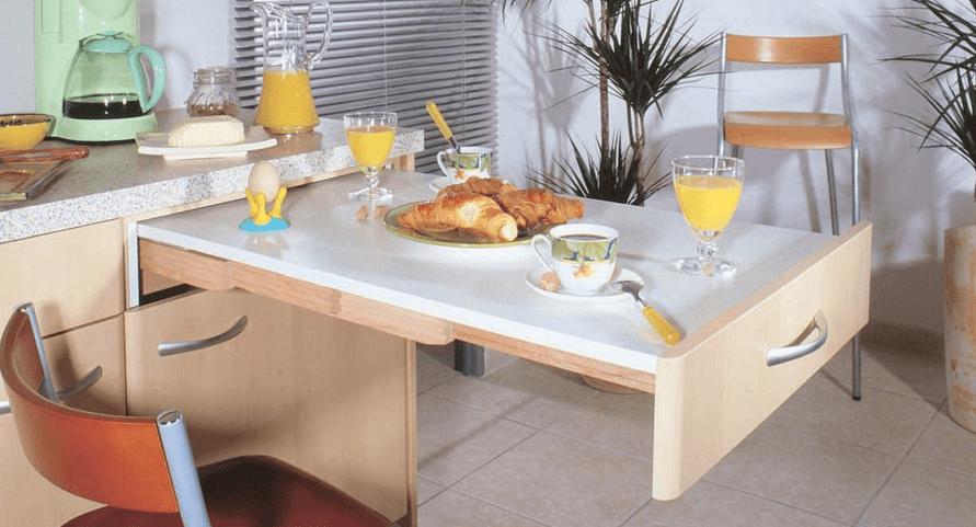 Дизайн прямой кухни - на 3, 4 метра и больше.