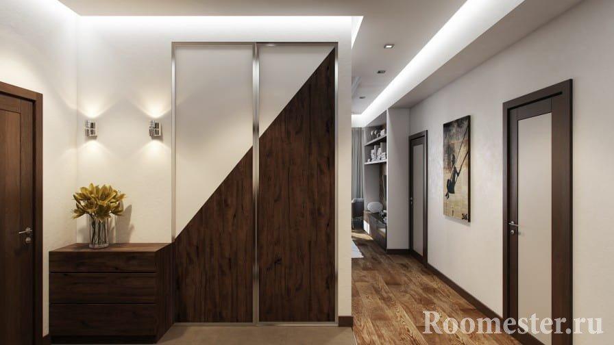 Современный интерьер холла в квартире