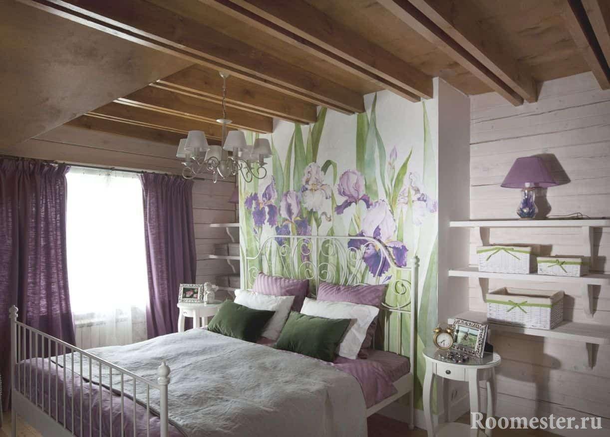 Стиль прованс в интерьере спальни фото своими руками фото 814