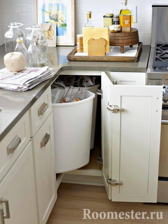 Оборудование угловой кухни