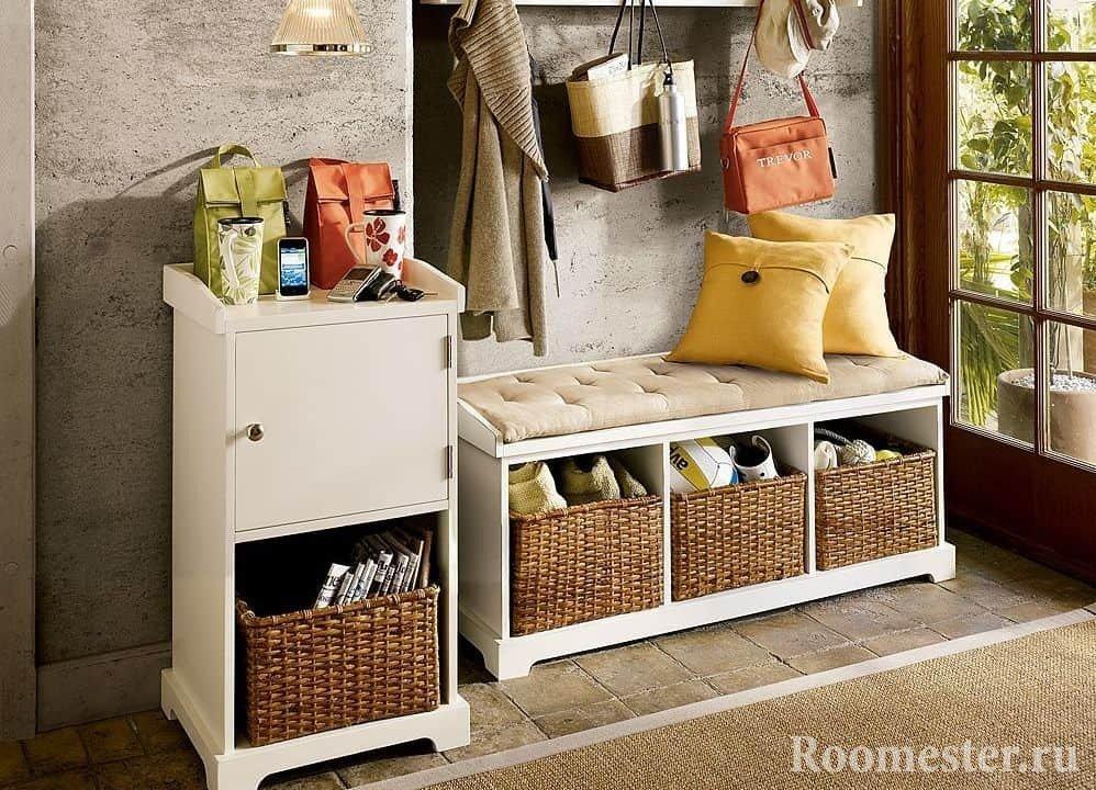 Удобная мебель для прихожей