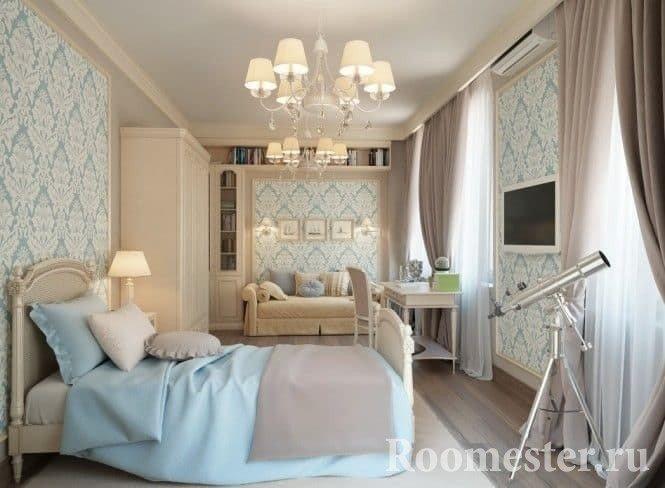 Дизайн спальни в 3-комнатной квартире