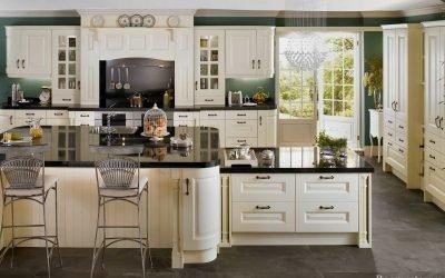 Дизайн большой кухни — 50 фото интерьеров