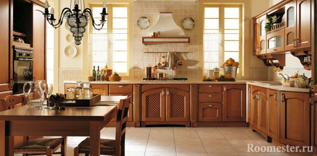 Элементы декора кухни