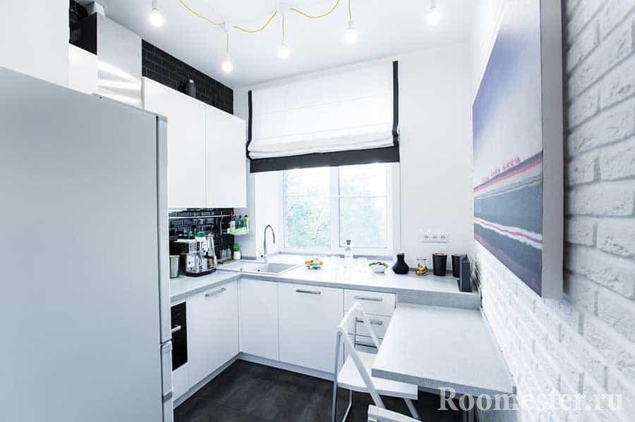 Кухни 7 5 м дизайн