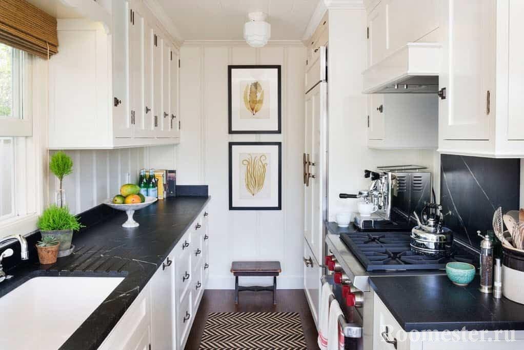 дизайн кухни 6 кв м