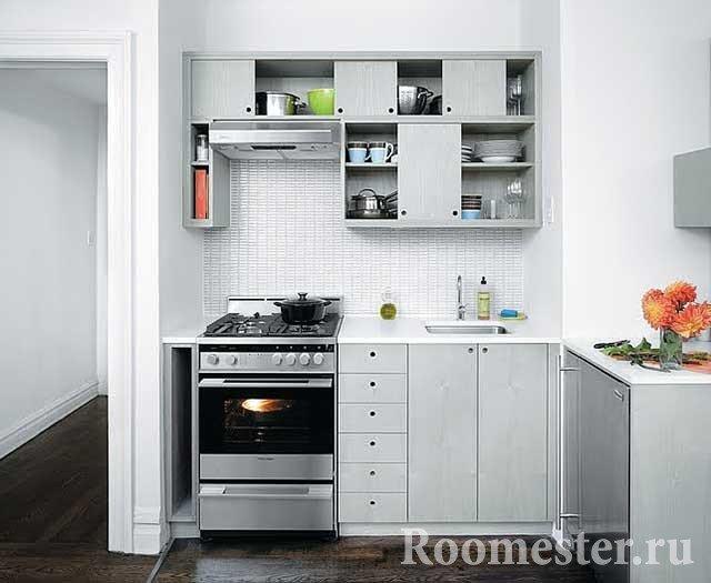 Мебельный гарнитур для кухни 6 кв