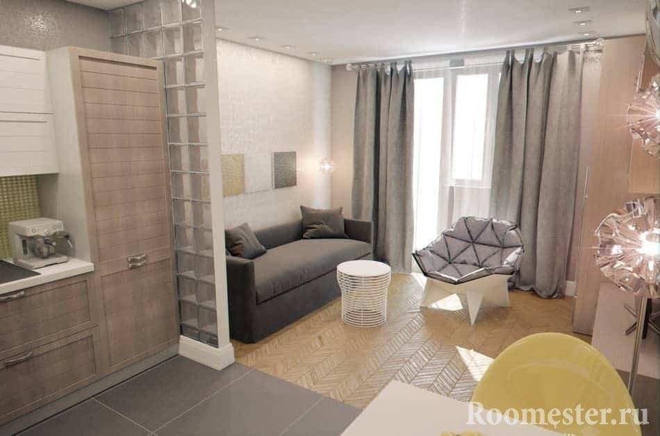 Квартира студия 22 кв