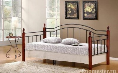 Интерьер спальни с диваном вместо кровати (20 фото)