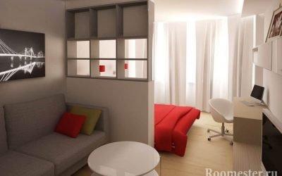 Дизайн гостиной спальни — примеры совмещения