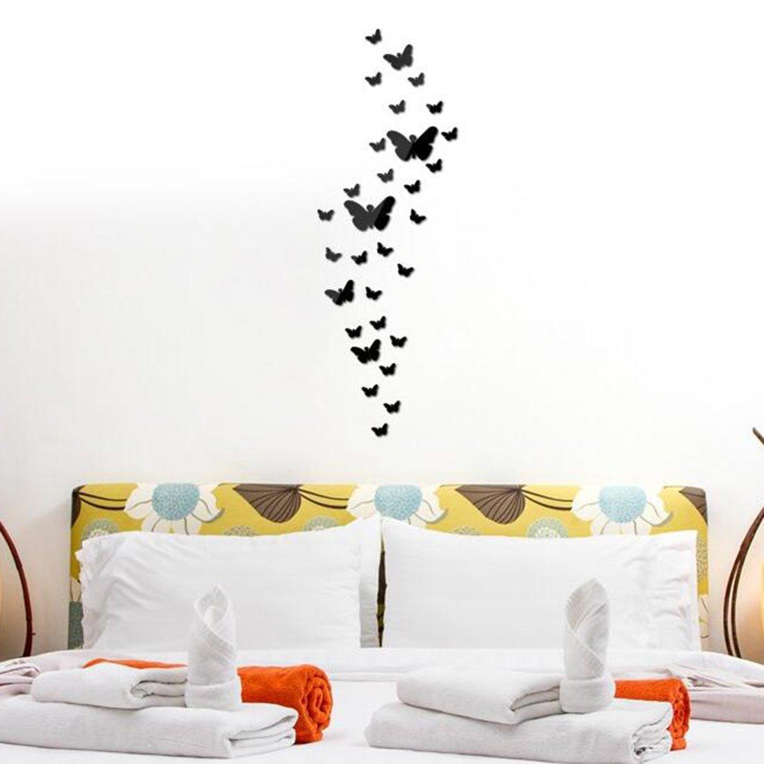 Декор стен бабочками своими руками: трафареты, материалы 907