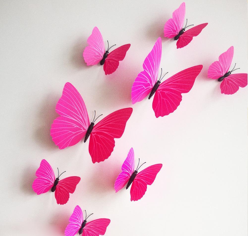 Крепление бабочек булавками