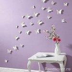 Бумажные бабочки