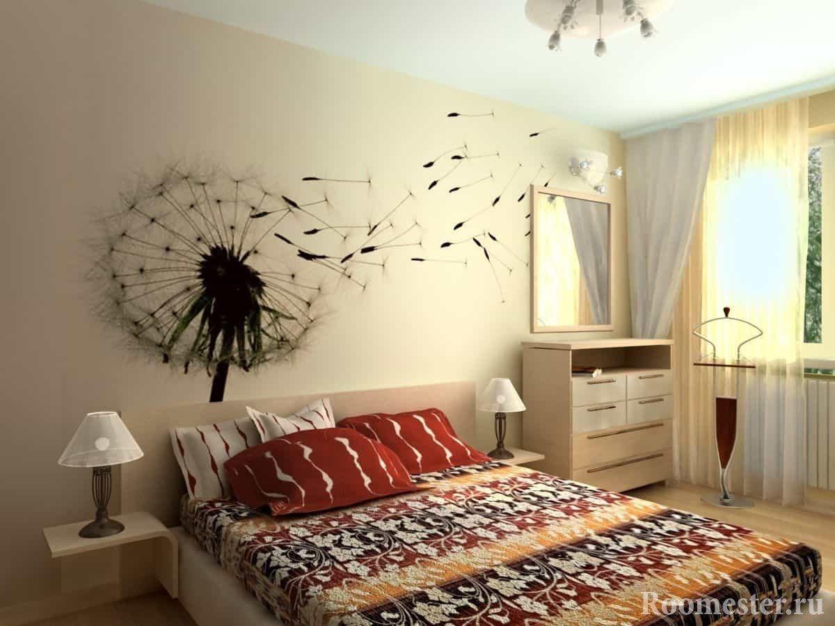 Идеи для ремонта в спальне своими руками 93