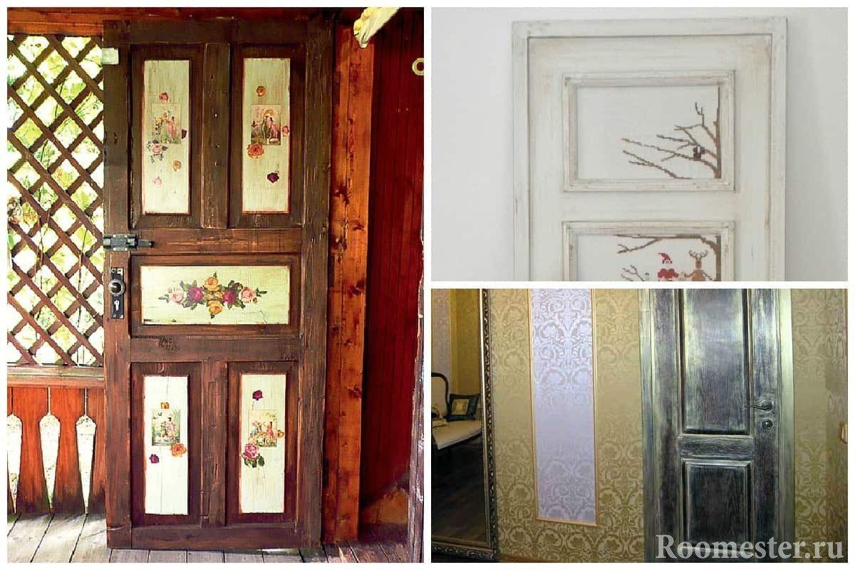 Как из старых дверей сделать новую 151