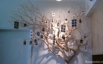 Избранные идеи декора из веток деревьев своими руками