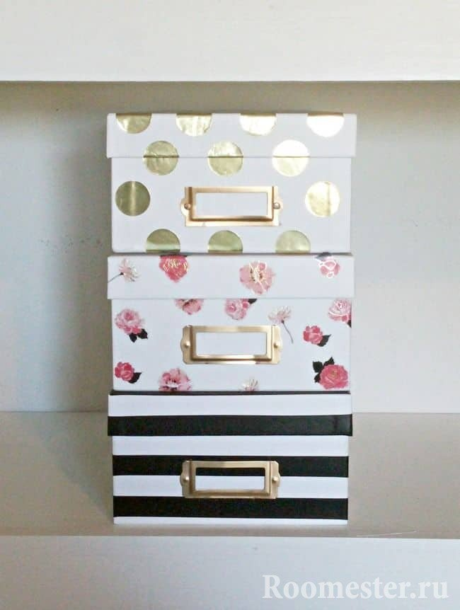 Картонные коробки из под обуви