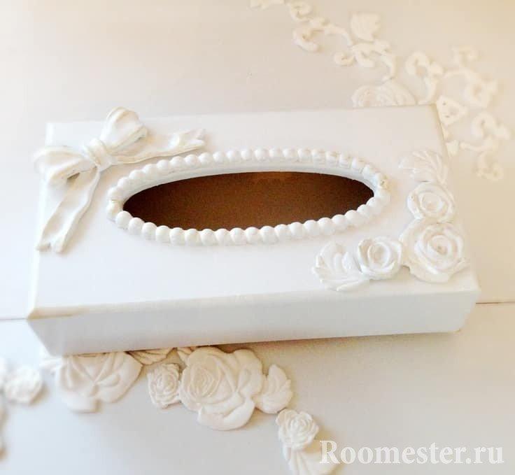 Коробочка для носовых платочков